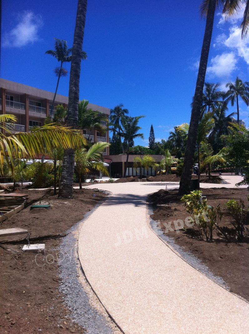 Am nagement terrasse am nagement de cour r seau jdm expert for Amenagement jardin noumea
